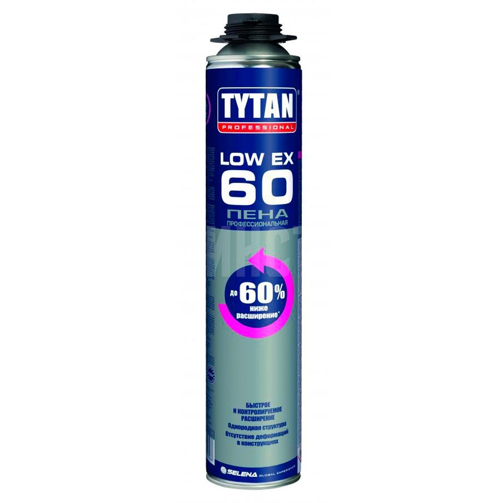 Пена TYTAN Professional LOW-Ex 60 750 мл,